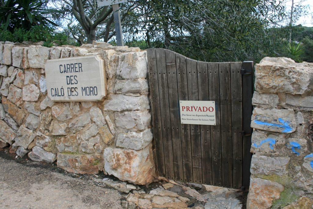 Zugang zur Calo des Moro