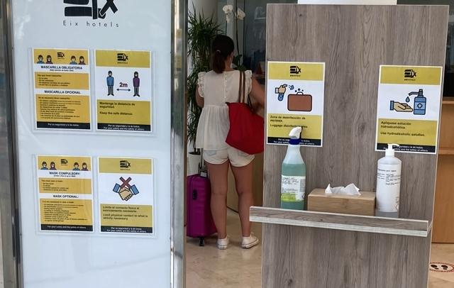 Wegen den Corona Maßnahmen auf Mallorca gelten in den Hotels diese Regeln