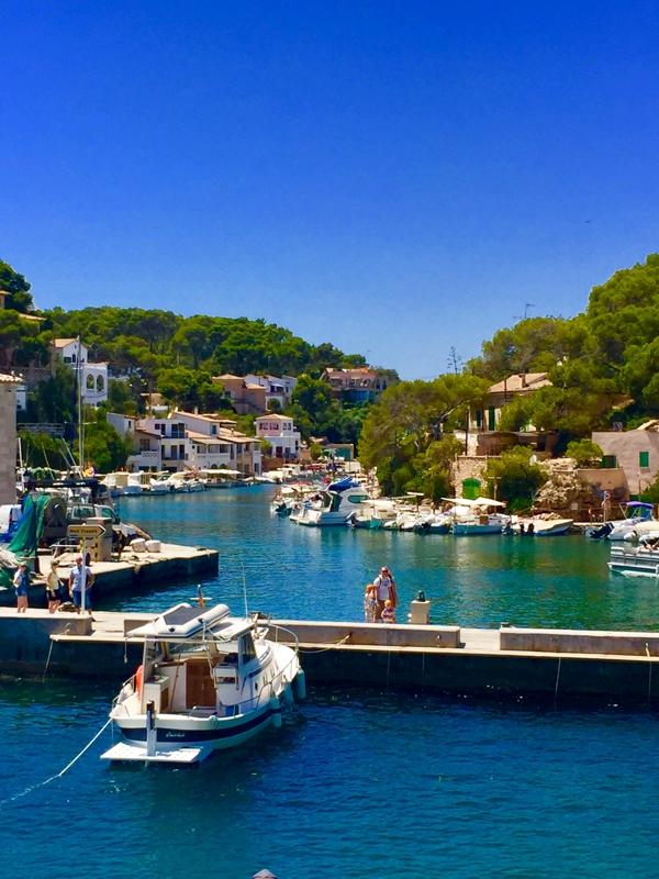 Der Hafen der Cala Figuera