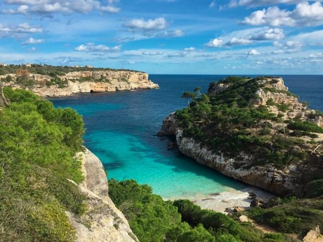 Die Calo des Moro auf Mallorca