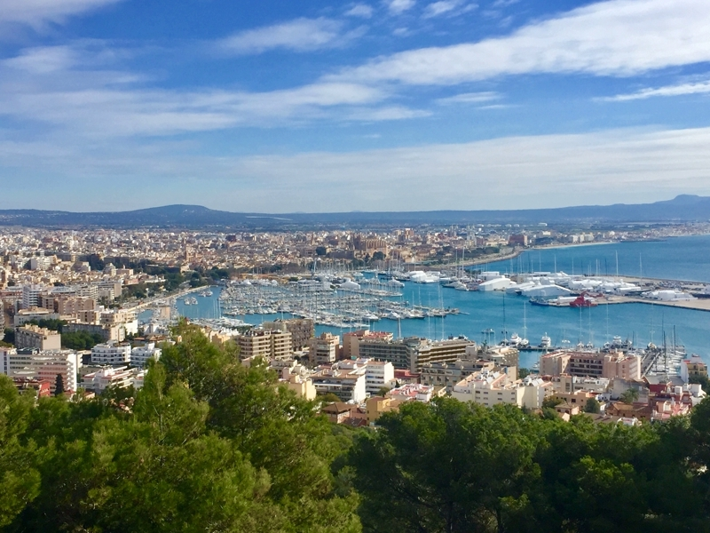 Palma die Inselhauptstadt von Mallorca