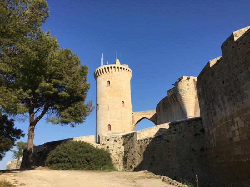 Turm vom Castell de Bellver