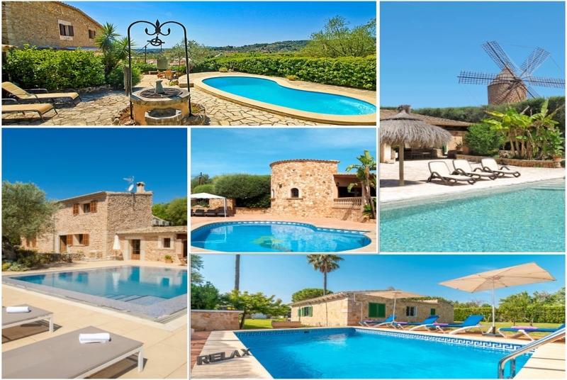 Fincas und Ferienwohnungen auf Mallorca