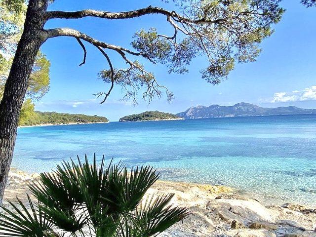 Blick auf den Mallorca Strand Playa de Formentor