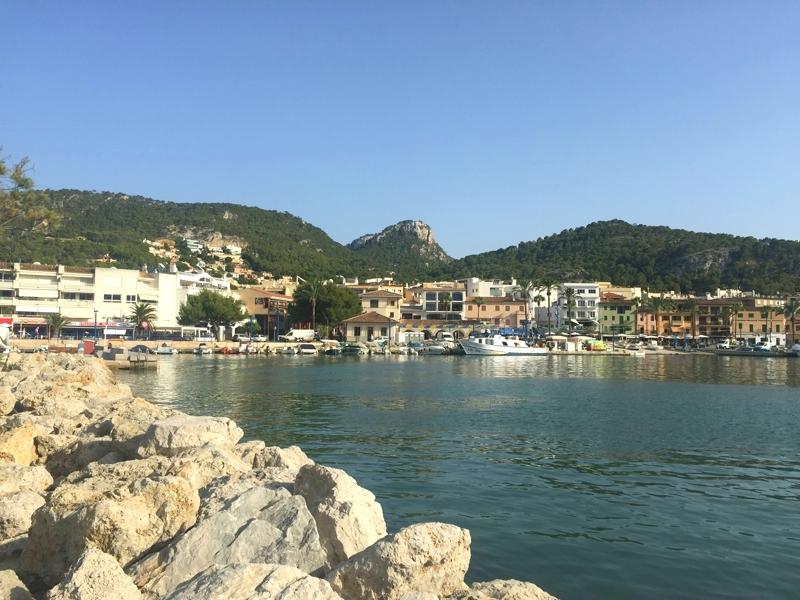 Der Hafen von Port d' Andratx