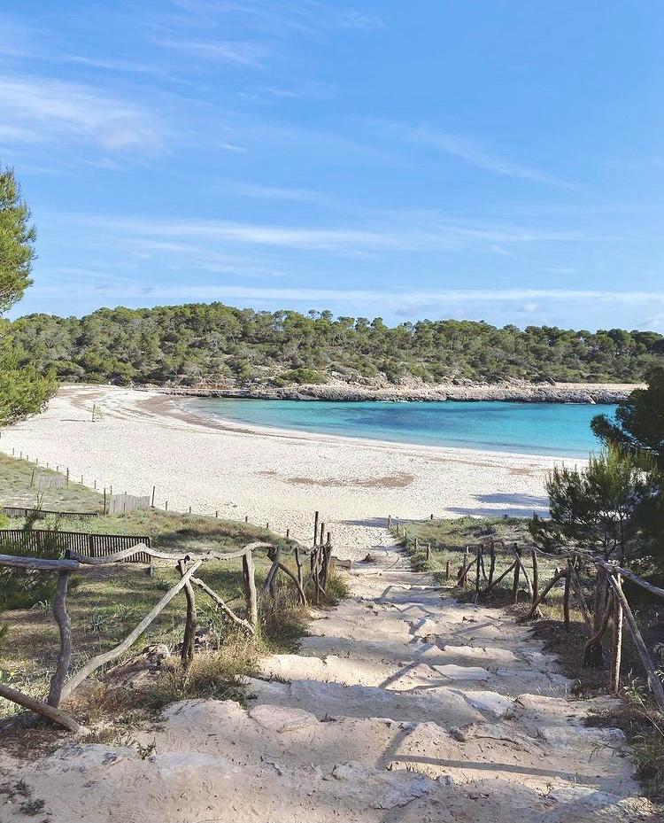 Der Strand S'Amarador auf Mallorca