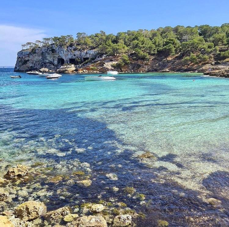 Die Cala Portals Vells auf Mallorca wird auch als Drei-Finger-Bucht bezeichnet