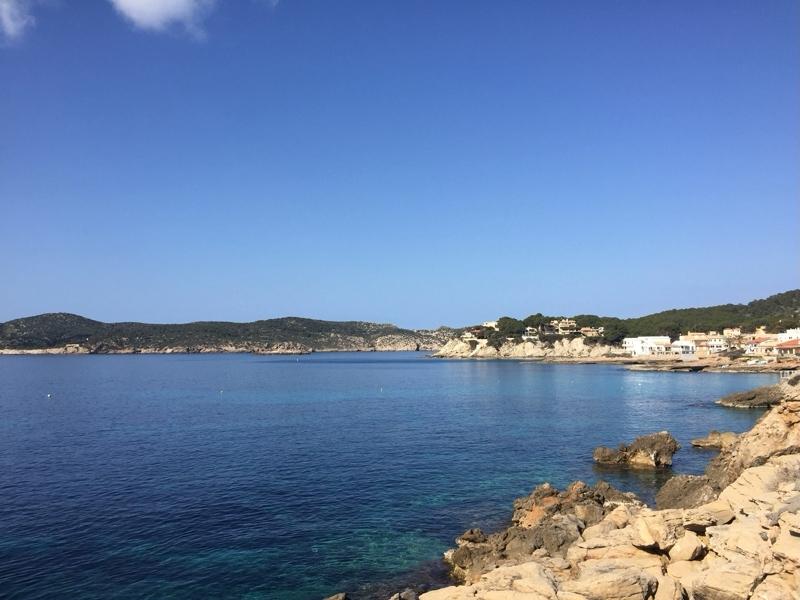 Küstenlinie von Sant Elm auf Mallorca