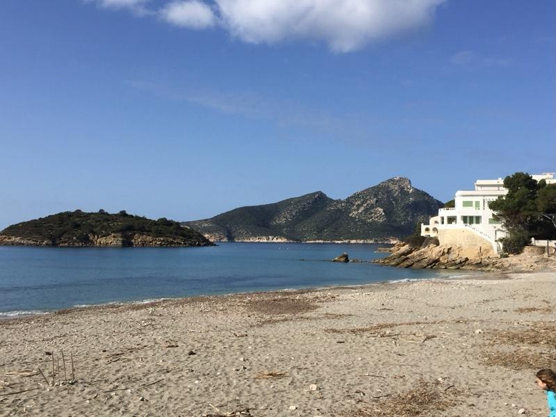 Strand von Sant Elm auf Mallorca